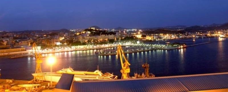 Fotografía del puerto