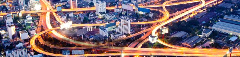 Luces del transporte en carreteras